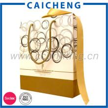 Изготовленное на заказ печатание упаковывая косметическая бумажная сумка