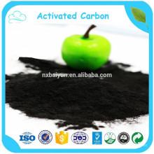 180/200/320 Mesh Powder Activated Carbon Plant con precio bajo