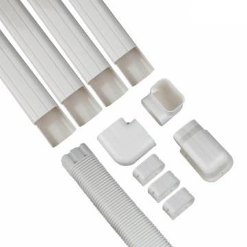 Conducto de instalación de aire acondicionado decorativo de PVC