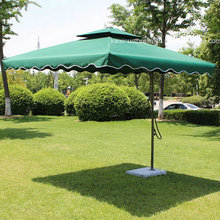 48 Inches 8 Ribs Windproof Sun Umbrella Outdoor Umbrella