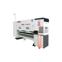 High quality chain feeder type 4 colors printing slotting machine
