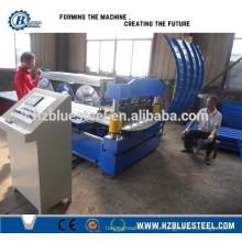 Крыша использовать портативные автоматические гофрированные железа GI PPGI алюминиевые обжимные машины из Китая Пзготовителей