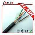 CAT5E Outdoor Gel Filled UTP Cable Black Direct Burial
