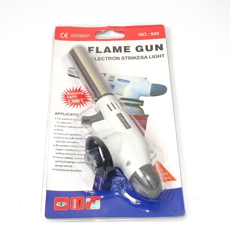 Flamethrower gas gun spray torch gas burner burning torch