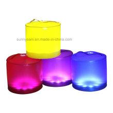 10 RGB LED надувной солнечный фонарь Лампа светлый цвет Изменение солнечного фонаря портативный открытый поход водонепроницаемый свет