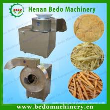 halbautomatische Kartoffelchips Maschine / Kartoffel Pommes frites Cutter Maschine 008613343868847
