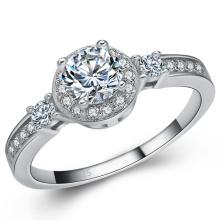 Fashion Jewelry 925 Silver Ring Jewelry Hand Setting