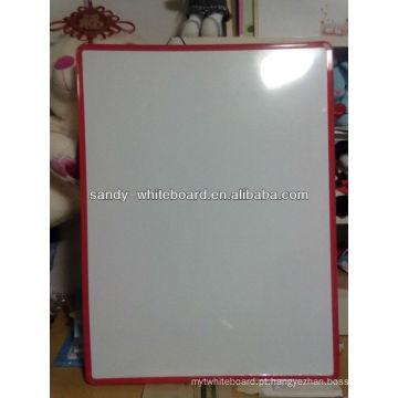 Pvc notic board soft frame quadro branco