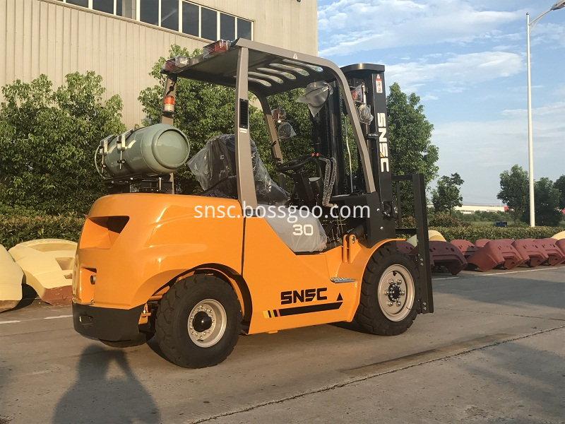 4pcs 3t gas forklift to MEXICO from sheri (10)