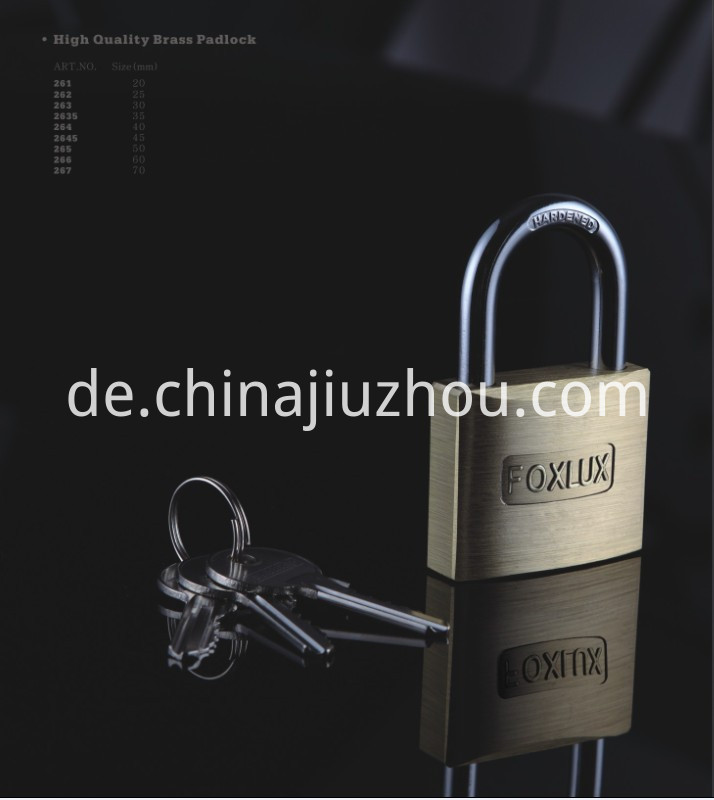 Good Brass Padlock