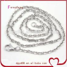 Corrente de corrente de jóias de aço inoxidável