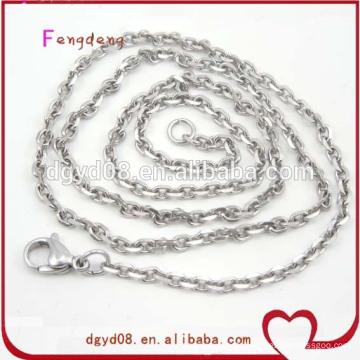 Fournisseur de chaîne de chaîne de bijoux en acier inoxydable