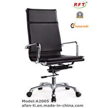 Silla ejecutiva ergonómica moderna del hierro del cuero de la oficina (RFT-A2005)