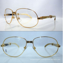 Ct White Mix Yellow Horn Bend Lunettes / Ct Horn Reading Glasses / Ct Horn Frame