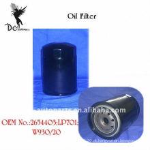 Filtro de óleo para equipamentos de manuseio de materiais fora de estrada