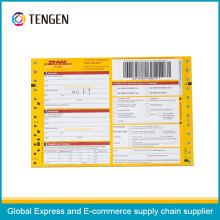 Multi Layers Logistics Barcode Air Waybill