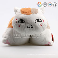 Cojín de peluche en forma de gato personalizado
