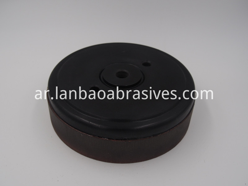 detail of Arris BD polishing wheel with base D100