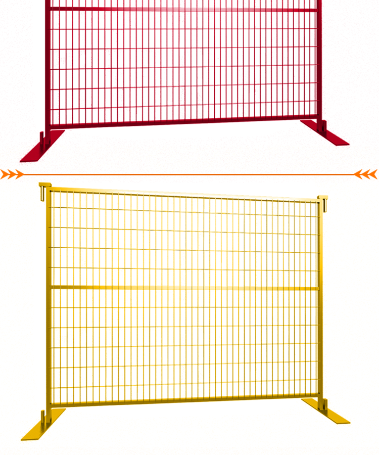 PVC Coated High Security Removable Temporary Fence