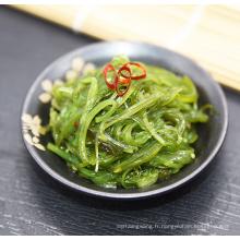 Salade de goûters aux algues assaisonnés certifiés BRC & HALAL Parfait pour les plats froids