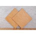 tapis de sol en grain de bois de gymnastique eva utilisé