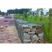 1X1X1, Gabion Box Stone Cage, High Zinc Galvanized Gabion Boxes / PVC Coated Gabion Baskets/ Stone Cage (direct factory)