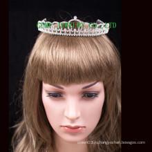 Изготовленный на заказ оптовый тиара rhinestone корона кристаллический headwear