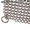 Safe Smaller Ring Stainless Steel Chainmail Scrubber Oem