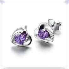 Jóia de cristal jóia brinco 925 jóias de prata esterlina (se013)