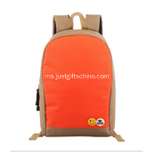 Promosi 600D Orange Color Backpack
