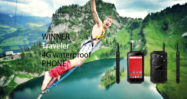 WINNER Traveler 4G waterproof PHONE