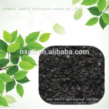 carbón activado granular de nuez (GAC) para la decoloración del azúcar