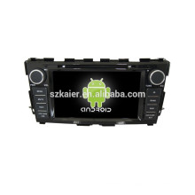 Android quad core, android gps dvr para Nissan Teana 2014 reproductor de DVD con radio bluetooth 3G WIFI