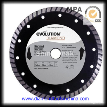Continuous Diamond Saw Blades for Tile Granite Marble Concrete