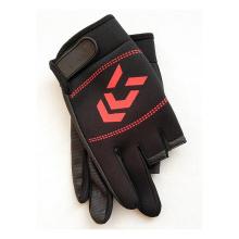 Fashion New Sports Gloves Fitness Three-Finger Half-Finger Gloves Fishing Gloves