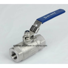 2PC Ball Valve with High Pressure 6000psi