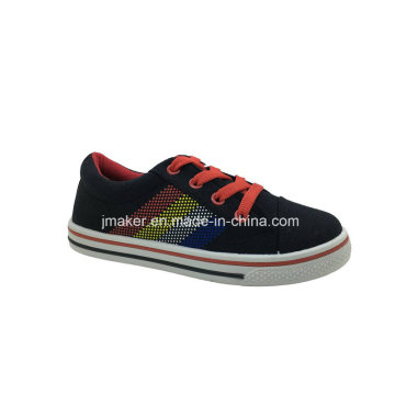 Classic Blank Casual Canvas Shoe for Children (J2623-B)