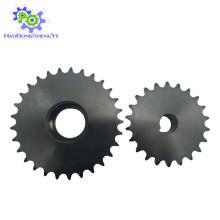 Corrente e roda dentada de aço inoxidável
