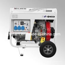 Ensemble de générateur diesel type 5kw ouvert (DG6000E)