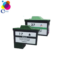 China remanufactured ink cartridges 17 27 ink cartridge with Competitive factory price