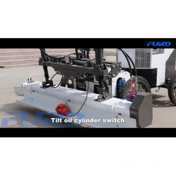 Ride On Vibratory Concrete Laser Screed Machine Self Leveling Screed