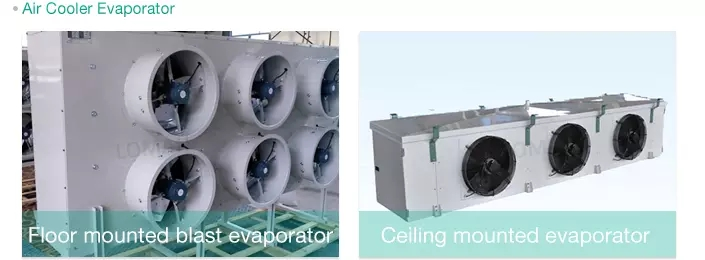 blast freezer evaporators