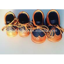 Chaussures en cuir pour bébé New style Toddler chaussures en cuir MOQ300