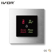 Sistema del timbre del hotel Marco al aire libre del panel de la aleación de aluminio (HR-dB1000S2R-AL)
