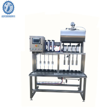 semi auto beer bottle filling and capping machine for Brewery