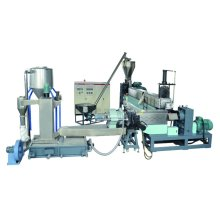 Single Screw Pelletizing Granulating Extruder/ Plastic Recycling Line