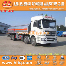 SHACMAN M3000 8X4 270HP 30000L liquid chemical transport tank truck engine modle WP7.270E31 for sale , china factory supply