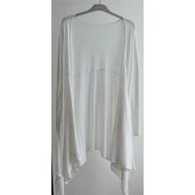 100% algodón mujeres palangre abierto puro color cardigan de punto