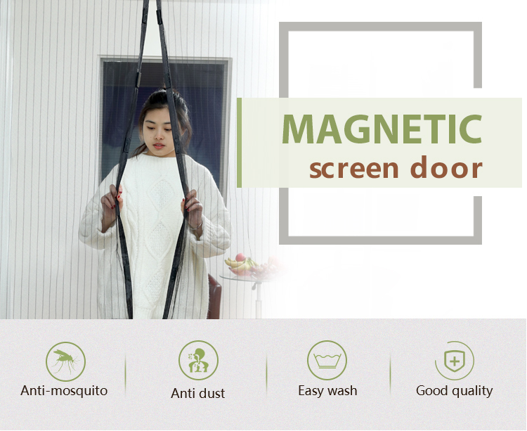 magnetic curtain door