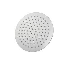 Cabeça de chuveiro de aço inoxidável ultra fino redondo 304 (QH326AS)